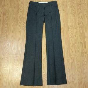Theory grey wool stretch trousers sz 0